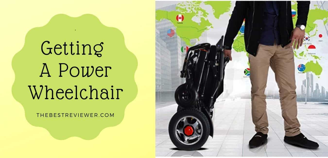 Getting a power wheelchair - what you need to know